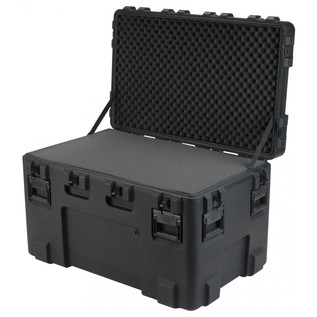 SKB R Series 4024-24 Waterproof Case (With Layered Foam) - Angled Open