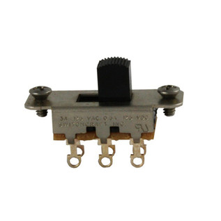 Switchcraft Slide Switch On-On, Black
