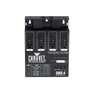 Chauvet DMX-4 Dimmer and Switch Pack