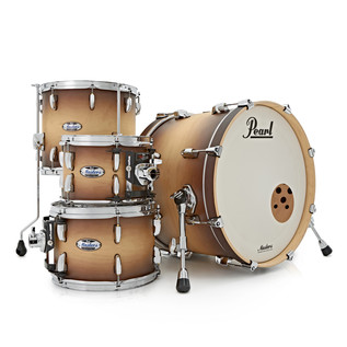 Pearl Masters Custom Complete 20 Shell Pack, Satin Natural Burst