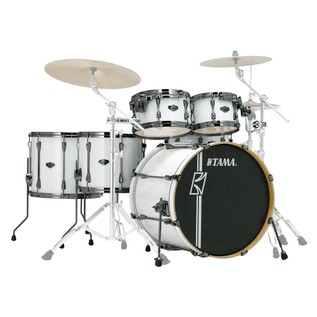 Tama Superstar Hyperdrive Maple 6 Pc Shell Pack, Sugar White