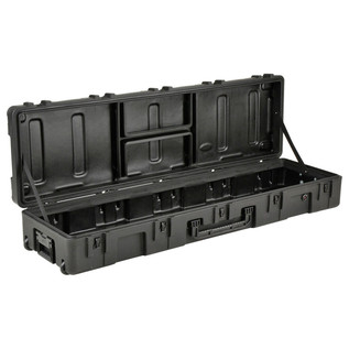SKB R Series 6416-8 Waterproof Case (Empty) - Angled Open