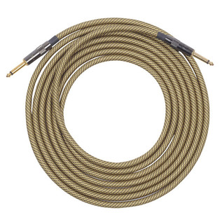 Lava Cable ELC Vintage Tweed Instrument Cable 15ft Image
