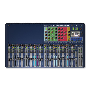 Soundcraft Si Expression 3 Mixer Digital Stagebox Bundle