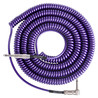 Lava kabel Retro Coil vinklet Instrument Cable 20ft, metallisk lilla