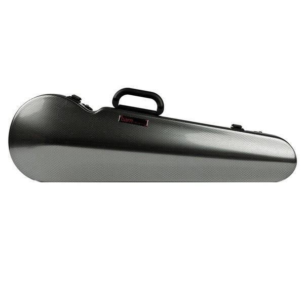 BAM 2002XL Hightech Shaped Violin Case, Silver Carbon