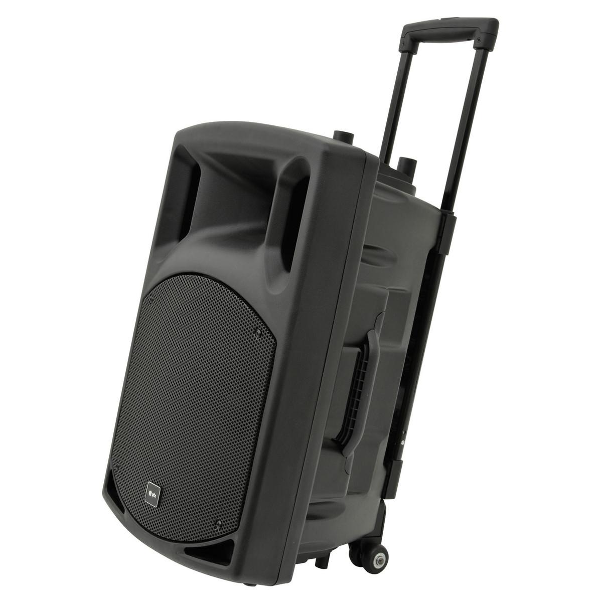 QTX QX12PA Bærbart PA system med Bluetooth   Gear4music