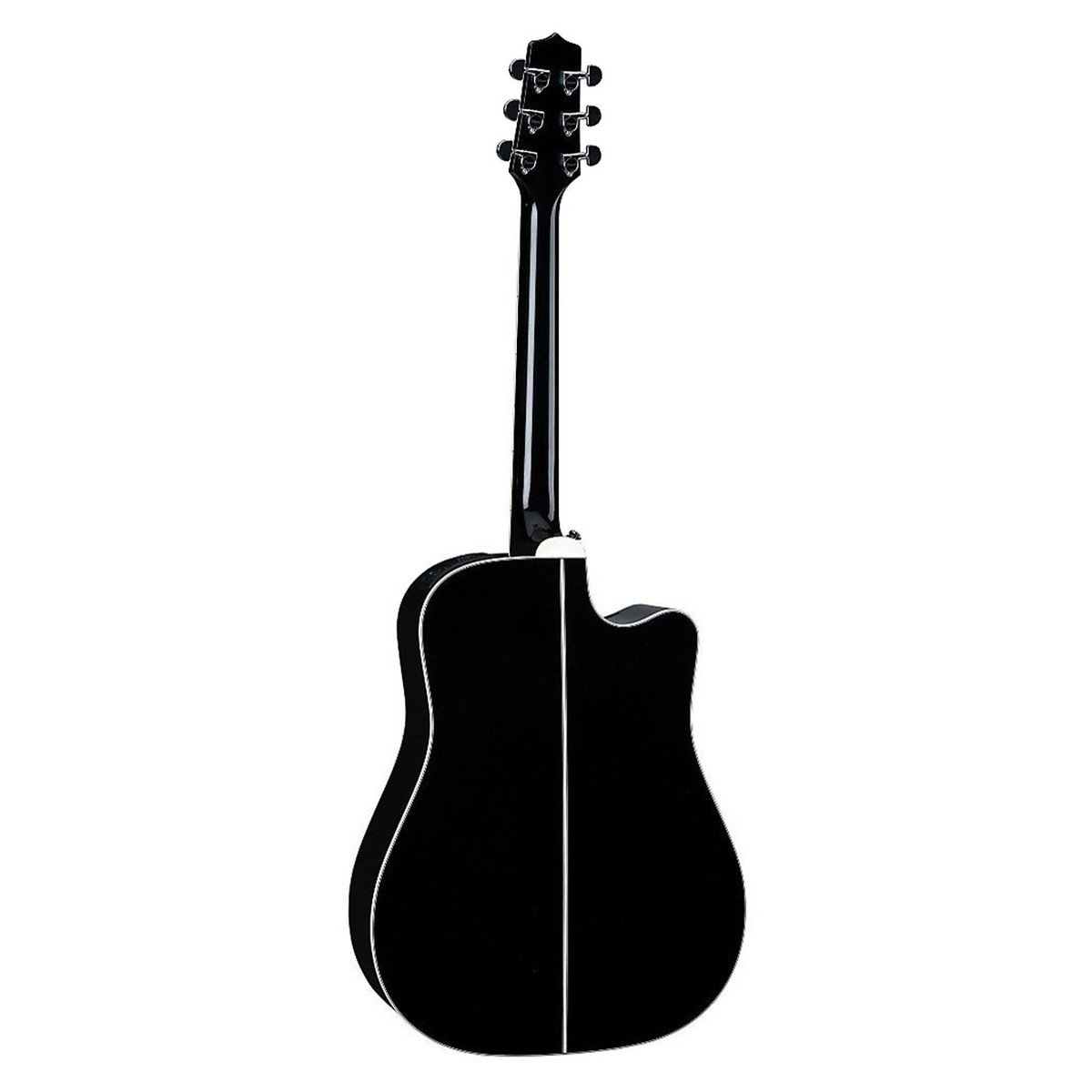takamine ef341sc lh left handed electro acoustic guitar black at gear4music. Black Bedroom Furniture Sets. Home Design Ideas
