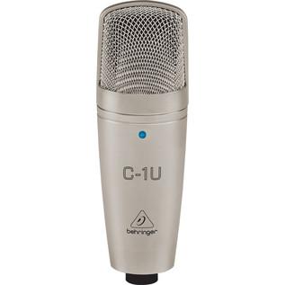 Behringer C-1U USB Condenser Microphone - Front View
