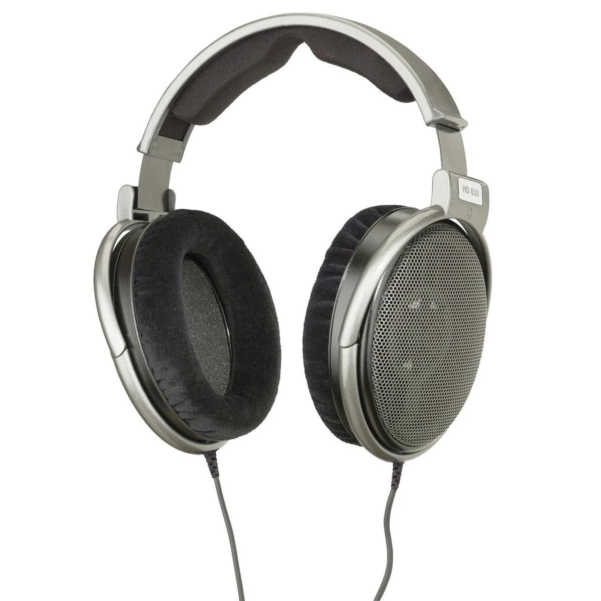 Sennheiser Hd 650 Audiophile Casque Dynamique Ouvert Boîte Ouverte