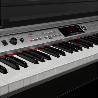 DP60 Digital Piano by Gear4music, Polished Ebony