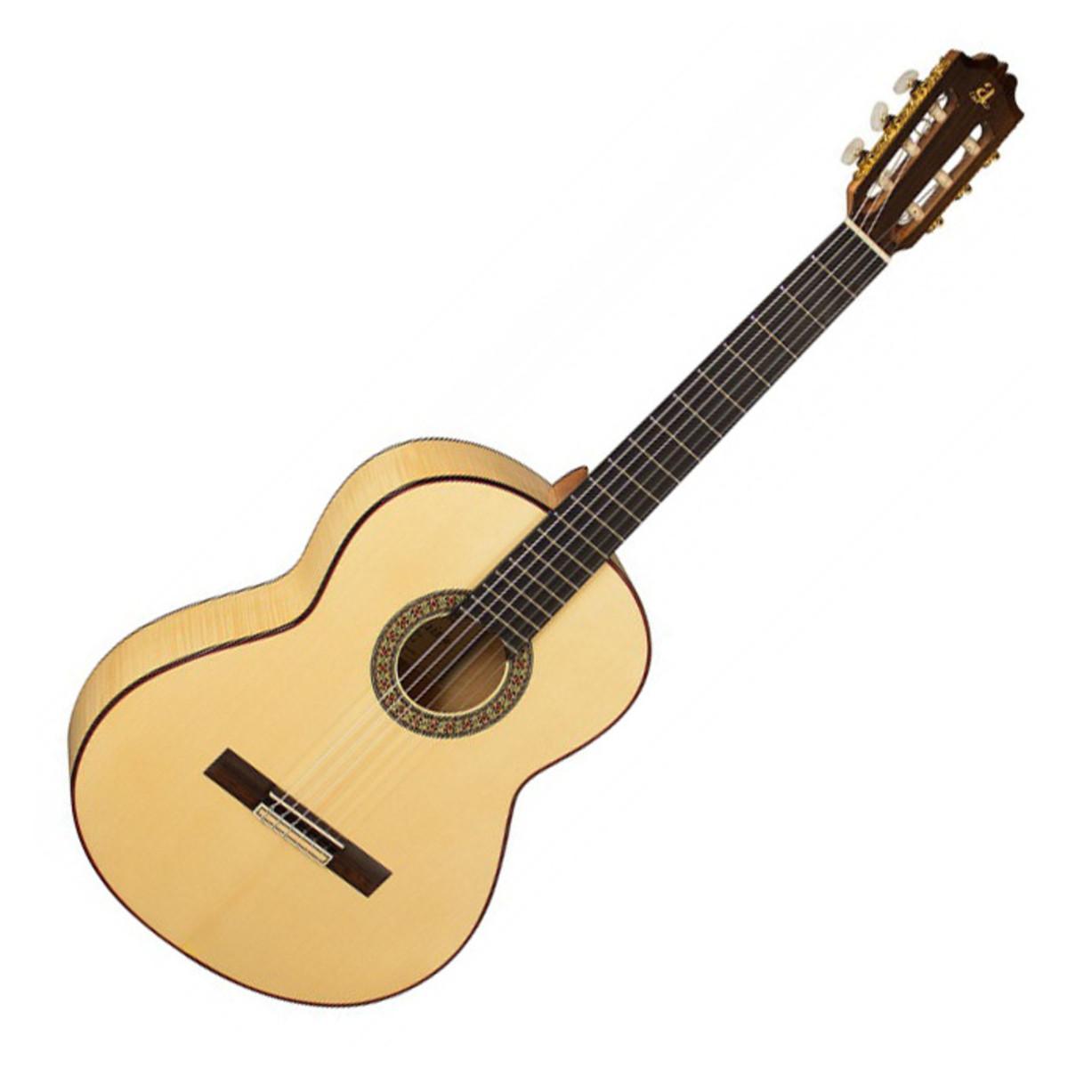 Admira 39 f4 39 flamenco classical guitar at for Guitarra admira