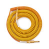 Lava Cable Morph Coil Instrument Cable 25ft, Orange to Yellow