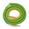 Lava Cable Morph Spule Instrument Cable 7.6 m (25ft), grün, blau