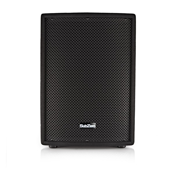"SubZero 350W 12"" Active PA Speaker by Gear4music"