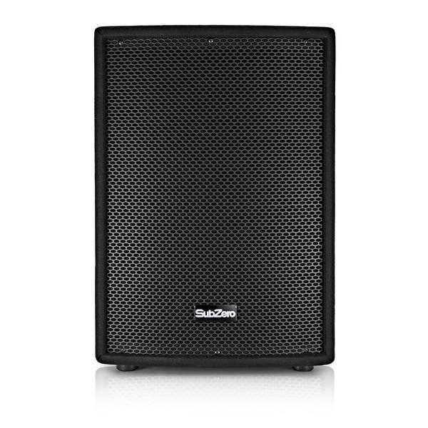 """SubZero 800W 12"""" Passive PA Speaker Bundle"""