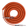 Instrumento de bobina retrô Lava Cable cabo 20ft,    Orange