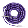 Lava kabel Retro Coil Instrument Cable 20ft, metallisk lilla
