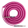 Lava Cable Retro Coil Instrument Cable 20ft, Hot Pink