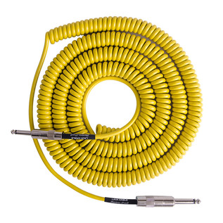 Lava Cable Retro Coil Instrument Cable 20ft, Yellow Image