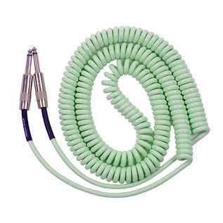 Lava Cable Retro Coil Instrument Cable 20ft, Surf Green Image