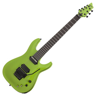Schecter Keith Merrow KM-7 FR S Electric Guitar, Lambo Green