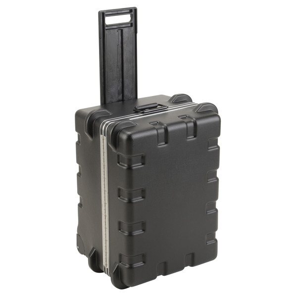 SKB MR Series Pull Handle Case (2417) - Angled With Handle Extended