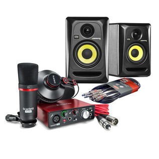 Focusrite Scarlett Solo Home Studio Bundle (2nd Gen)