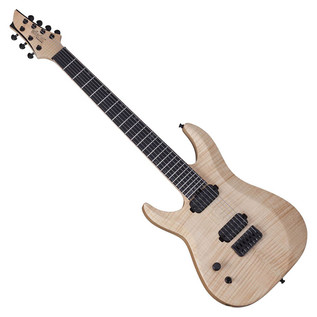 Schecter Keith Merrow KM-6 Mk-II Left Handed Guitar, Natural Pearl