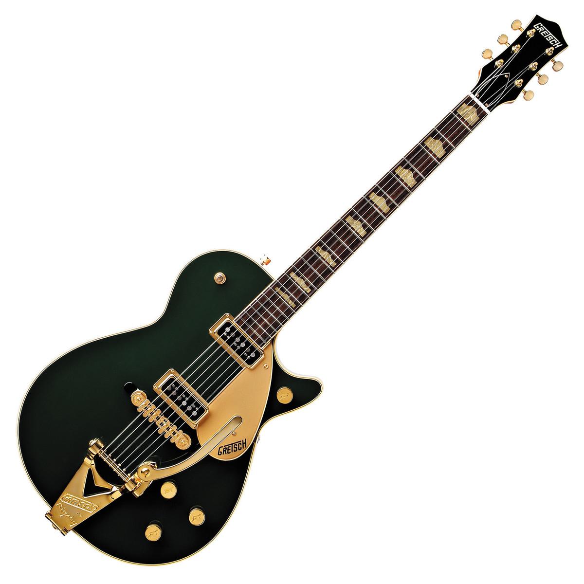 6c32e3c4d74 DISC Gretsch G6128TCG Duo Jet Electric Guitar, Cadillac Green at ...