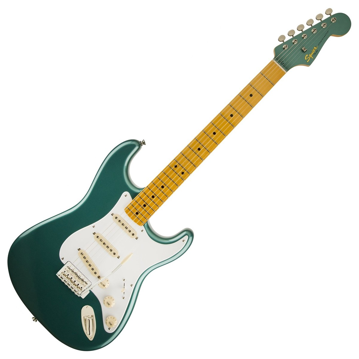 squier by fender classic vibe 50s stratocaster sherwood green at gear4music. Black Bedroom Furniture Sets. Home Design Ideas