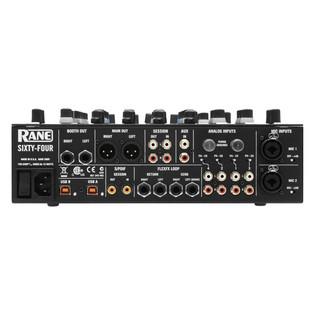 Rane Sixty-Four 4 Channel DJ Mixer - Rear