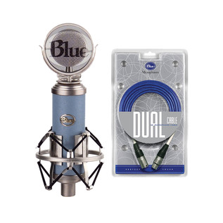 Blue Bluebird Cardioid Condenser Microphone with free Dual Cable