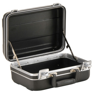 SKB Luggage Style Transport Case (1108-01) - Angled Open
