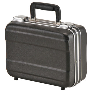 SKB Luggage Style Transport Case (1108-01) - Angled Closed
