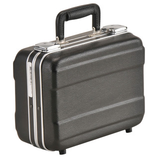SKB Luggage Style Transport Case (1108-01) - Angled Closed 2