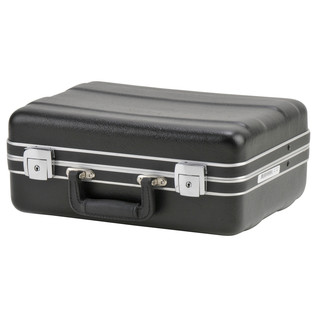 SKB Luggage Style Transport Case (1410-01) - Angled Closed 2