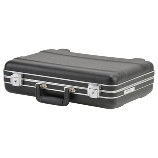 SKB Luggage Style Transport Case (1712-02) - Angled Closed 2
