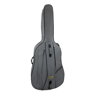 Tom and Will Double Bass Gig Bag, 3/4 Size, Smokey Grey and Black