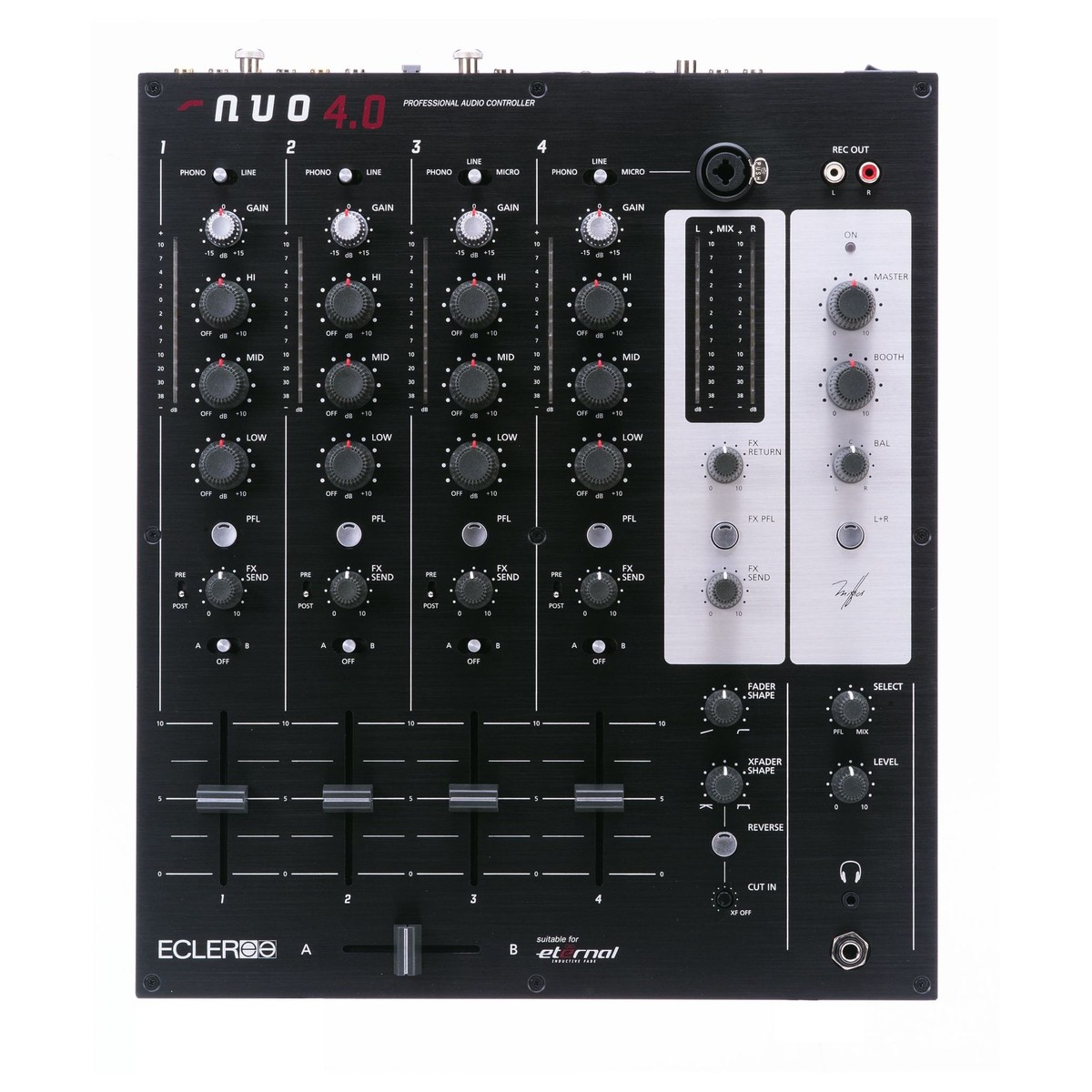 Table de mixage dj ecler nuo 4 0 for Table mixage