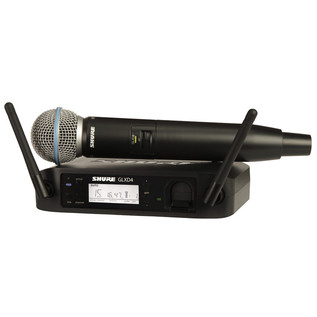 Shure GLXD24UK/B58 Beta 58A Digital Wireless Vocal Mic System