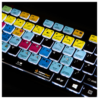 Editors Keys Backlit PC Keyboard for Cubase