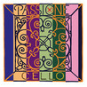 Pirastro Passione Cello D streng, Ball End