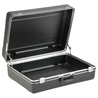SKB Luggage Style Transport Case (2218-01) - Angled Open
