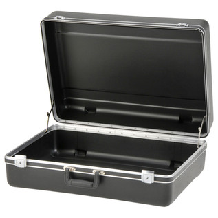 SKB Luggage Style Transport Case (2218-01) - Angled Open 2