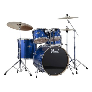 Pearl Export EXX 20'' Fusion Drum Kit, Blue Sparkle