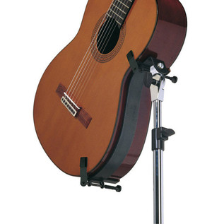 König and Meyer Guitar Performer Stand for Acoustic Guitars, Black