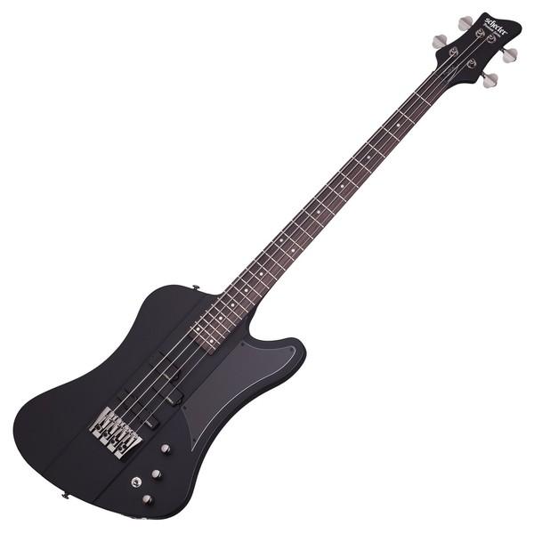 Schecter Sixx Bass Guitar, Satin Black