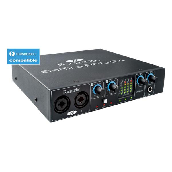 focusrite saffire pro 24 firewire & thunderbolt audiointerface - fast neu |  gear4music  gear4music