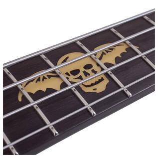 Schecter Johnny Christ Bass Guitar,Satin Black